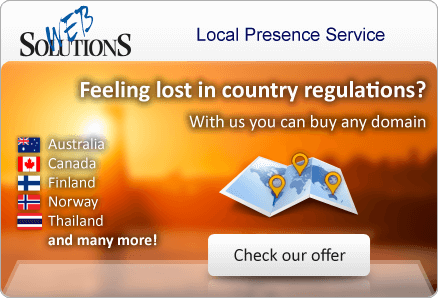 Feeling lost in country regulations? With us you can buy any domain