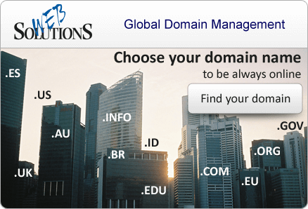 Choose your domain name to be always online