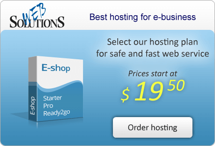 Select our hosting plan for safe and fast web service