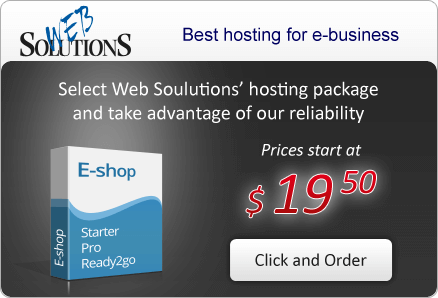 Select Web Solutions' hosting package and take advantage of our reliability