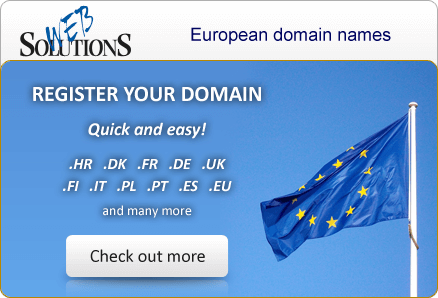 Register your domain. Quick and easy!
