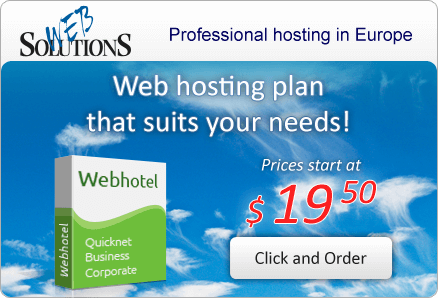 Web hosting plan that suits your needs!