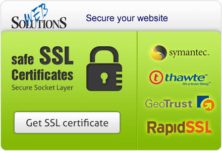 Safe SSL Certificates. Secure Socket Layer