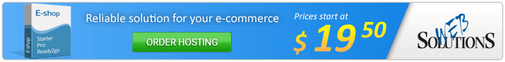 Reliable solutions for your e-commerce