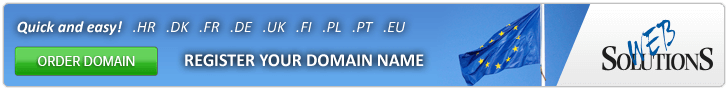 Quick and easy! Register your domain name