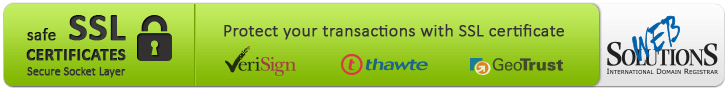 Protect your transactions with SSL certificate
