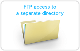 access to a separate directory
