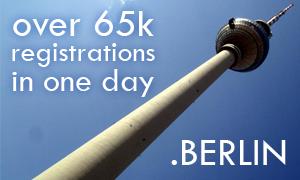 BERLIN domain promotion