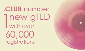 CLUB-domain-number-one-new-gTLD