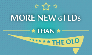 More new gTLDs than the old