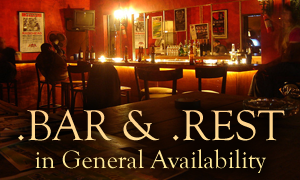 .BAR and .REST Now Available for Registration