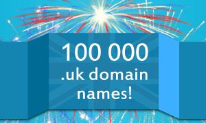 UK domain registrations pass 100K mark