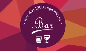 More than 1200 .BAR registrations