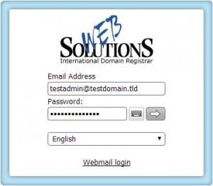 admin login
