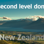 New Zealand, .NZ second level domains