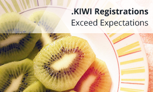 KIWI Registrations Exceed Expectations