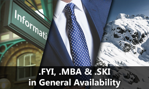 SKI FYI and MBA in General Availability