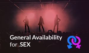General Availability for SEX