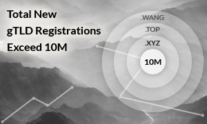 Total New gTLD Registrations Exceed 10M