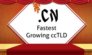 CN Domain Fastest Growing ccTLD