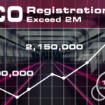 CO exceed 2 M registrations