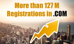 More than 127 M Registrations in COM